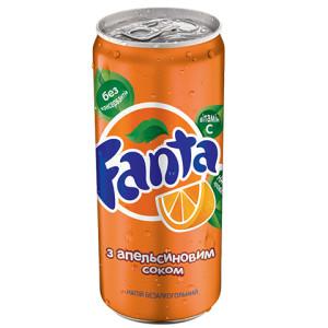 Фанта 0,33л