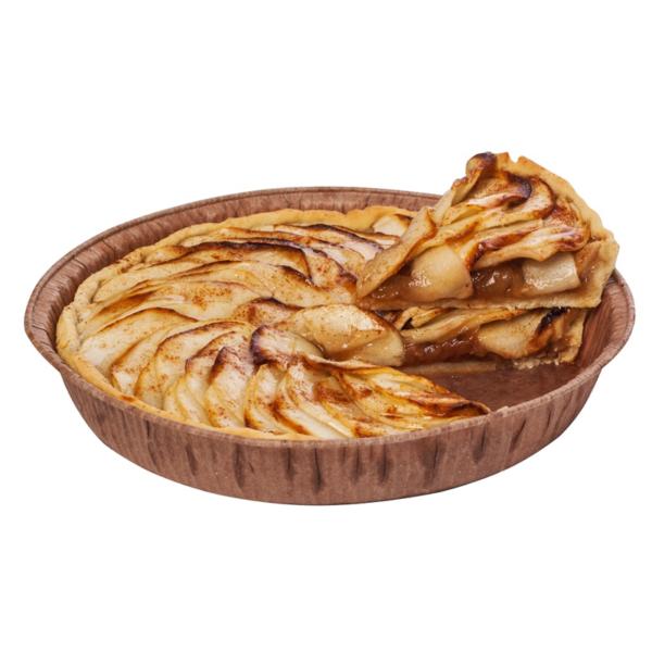 Пирог песочный с яблоками 150г (кусок 1/4)