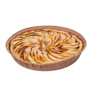Пирог песочный с яблоками 600г